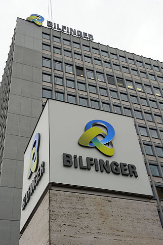 Bilfinger - Head office in Mannheim