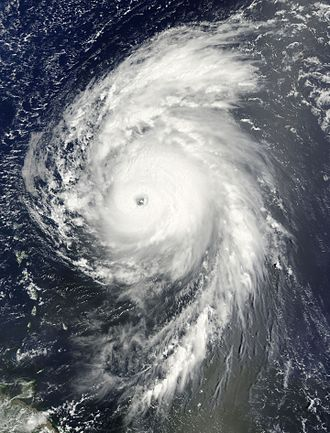 Hurricane Bill (2009) - Image: Bill Aug 19 2009 1415Z