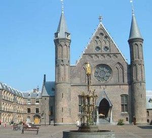 Friedrich Wilhelm von Thulemeyer - Binnenhof, even then the political center of the Netherlands
