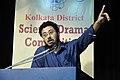 Biplab Chakraborty Addresses - Prize-giving Session - Science Drama Competition - BITM - Kolkata 2015-07-22 0801.JPG