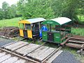 Bishops Bridge - Wickhams trolleys 3773 and 3321.jpg