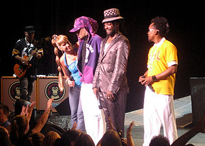 Monkey Business (album) - Image: Black Eyed Peas performing 2006 JD