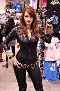 cosplay Male black widow