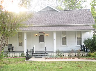 Canton, Texas - The Blackwell House Museum in Canton was built in 1886 but occupied as a residence until 1975.