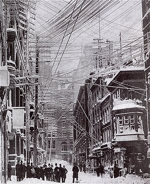 Great Blizzard of 1888 - Image: Blizzard 1888 01