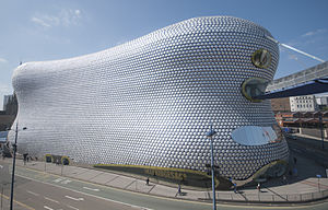 "Blobject - The Selfridges building (""The Blob"") in Birmingham by architect Jan Kaplicky of Future Systems"
