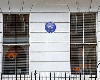 George Frederick Bodley - Blue plaque on Harley Street, London