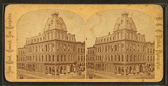 Edward Dow (architect) - Board of Trade Building, Concord, 1873.