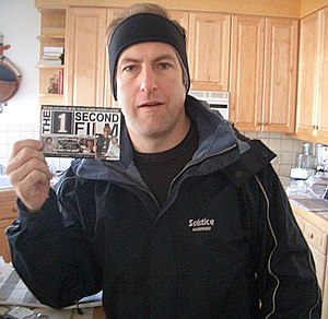 Bob Odenkirk - Odenkirk holding a producer credit for The 1 Second Film in January 2005