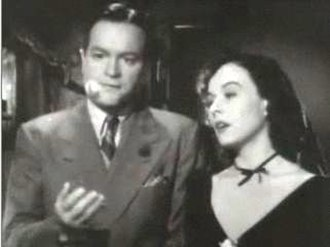 The Ghost Breakers - Image: Bob Hope and Paulette Goddard in The Ghost Breakers trailer