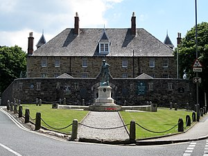 Victoria Barracks, Bodmin - The keep, now a museum