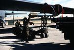 Boeing B-52H 60-0029 5BW Minot AFB loading 21Sep95 (RJF) (21579704396).jpg
