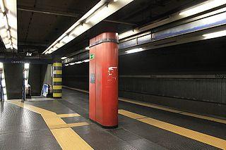 Bologna (Rome Metro) Rome Metro B station