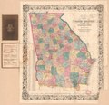 Bonner's pocket map of the state of Georgia LOC 91685221.tif