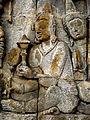 Borobudur - Lalitavistara - 005 E, Bodhisattva's Guidance to the Gods (detail 1) (11248065605).jpg