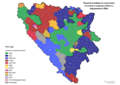 Bosnia and Herzegovina, municipal elections, 2004-sr.png