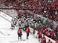 Bottle rocket (NHL Playoffs - April 25, 2009) (3472726696).jpg