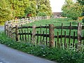 Boundary Fence at Charlecote Park - geograph.org.uk - 801956.jpg