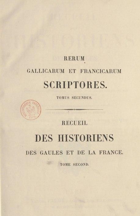 File:Bouquet - Recueil des Historiens des Gaules et de la France, 2.djvu