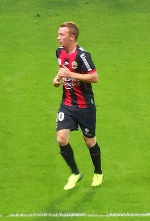 Christian Brüls - Brüls playing for Nice in 2013