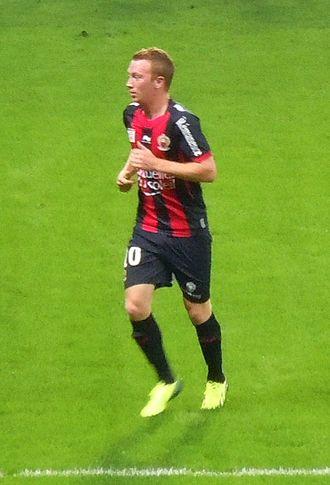 Christian Brüls - Brüls playing for Nice in 2013