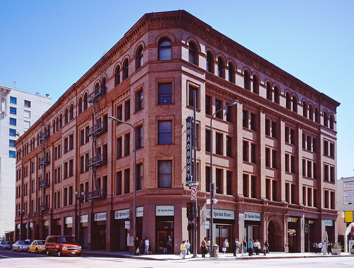 Bradbury building wikipedia for How to build a house in california