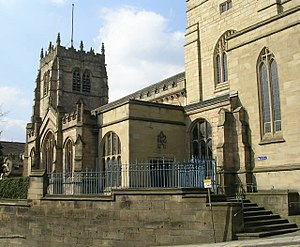 Anglican Diocese of Leeds - Image: Bradford Cathedral 01