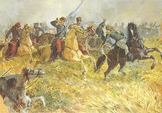 Battle of Ituzaingó - Death of Federico de Brandsen during the battle