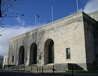 The Big Bang (Doctor Who) - Brangwyn Hall, which was used as the primary location for the museum.