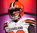 Brian Hartline Cleveland Browns New Uniform Unveiling (16534300673).jpg