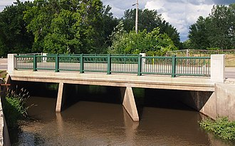 National Register of Historic Places listings in Fillmore County, Minnesota - Image: Bridge No. 5722