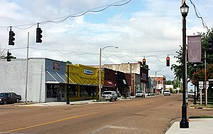 Brinkley, Arkansas - Downtown Brinkley