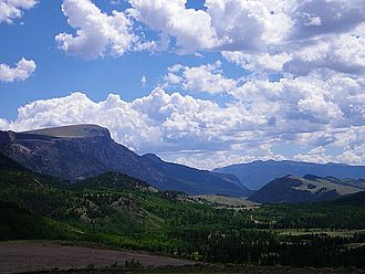 Mineral County, Colorado - Bristol Head, el. 12,713 feet (3,875 meters).