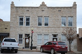 National Register of Historic Places listings in Franklin County, Arkansas - Image: Bristow Hotel
