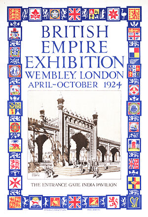 British Empire Exhibition - Exhibition poster