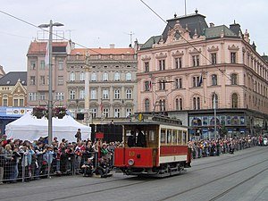 Historical tram No. 10, 140 years of public tr...