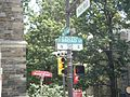 Broad Street Philadelphia street sign at Polett Walk.jpg