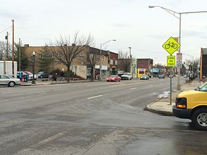 Hilltop, Columbus, Ohio - Broad Street, one of the main thoroughfares of Hilltop.