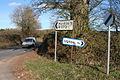 Broadhembury, the Upton turning - geograph.org.uk - 133298.jpg