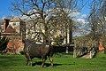Bronze Bull Cranborne Manor - geograph.org.uk - 373153.jpg