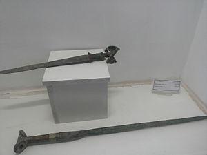 Dagger - Bronze Age swords, Kurdistan, museum of Sanandaj