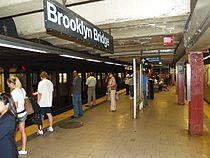 Brooklyn Bridge–City Hall (IRT Lexington Avenue Line) by David Shankbone.jpg