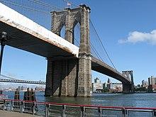 Brooklyn bridge wikipedia renovation of the brooklyn bridge in progress malvernweather Gallery