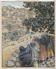 Les disciples mangent du blé au sabbat