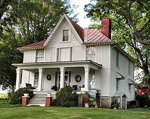 National Register of Historic Places listings in Greene County, Tennessee - Image: Brown Neas House Afton tn 1