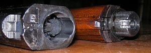Browning 22 Semi-Auto rifle - FN Browning .22, barrel dismounted