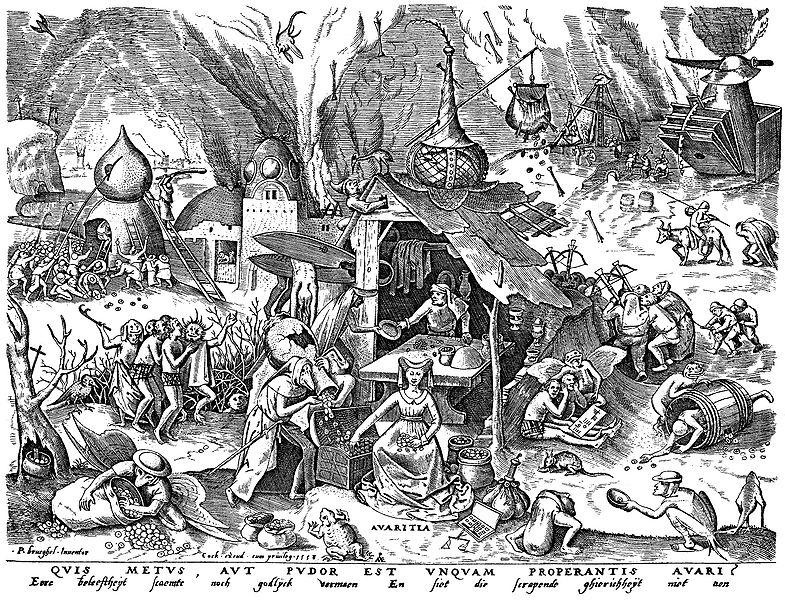 File:Brueghel - Sieben Laster - Avaritia.jpg