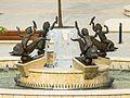 Brunnen mit vier Knaben, die auf Delphinen reiten. Gereonshof, Köln. Arno Breker-0776.jpg