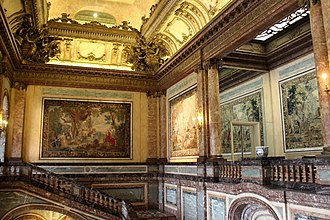 Egmont Palace - The main staircase