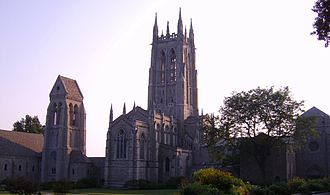 The New Church (Swedenborgian) - Bryn Athyn Cathedral of the General Church in Pennsylvania